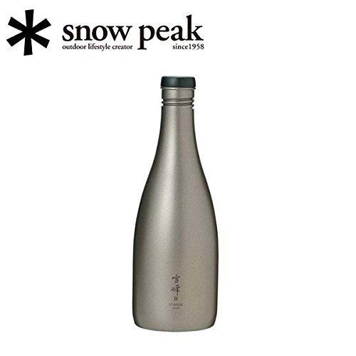(サカヅツ) Titanium (snow peak) スノーピーク 酒筒
